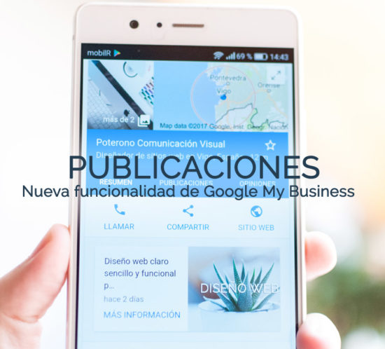 Publicaciones en Google My Business