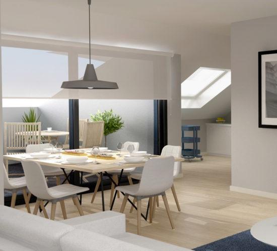 Render 3D: Promoción y venta inmobiliaria