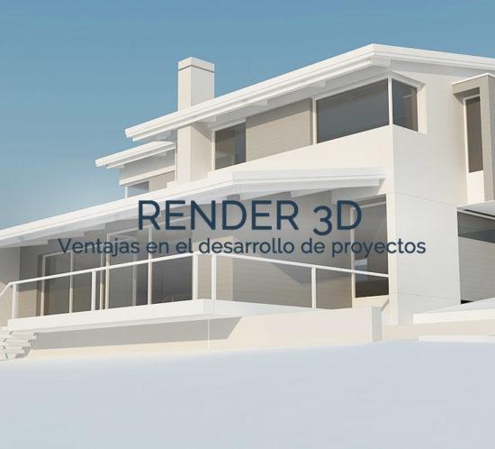 Render 3d arquitectura e interiorismo